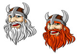 Viking warrior mascot