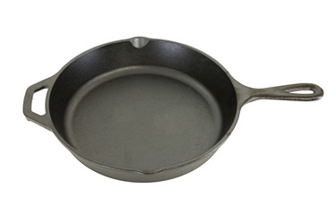 Side View of Cast Iron Pan