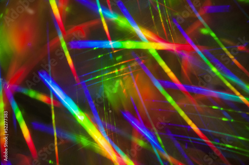 colourful light blur