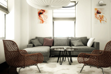 Contemporary design furnishing