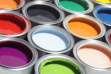 Farbdosen Palette