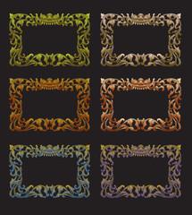 Balinese Frame Ornament 1d