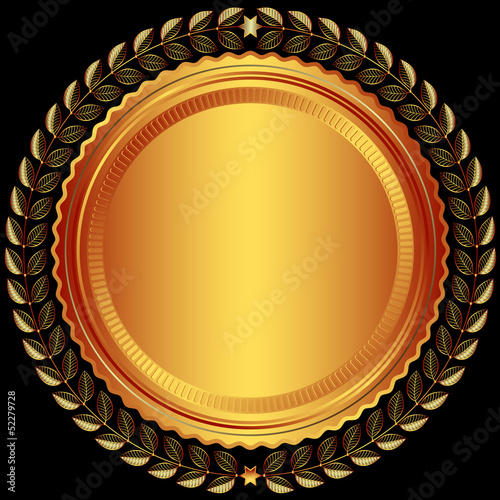 Bronze round frame