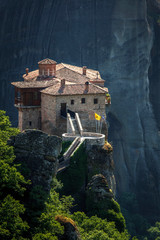 Roussanou monastery at Meteora, Greece