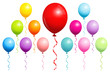 Birthday Balloons Color