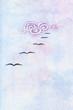 flock of birds in blue sky