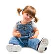 bambina con lecca lecca