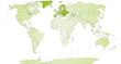 Landkarte von Europa und der Welt