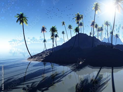 Foto op Canvas Fantasy landscape