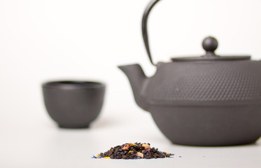 tea, cup and teapot, chinese traditional tea ceremony