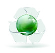 glass recycling symbol