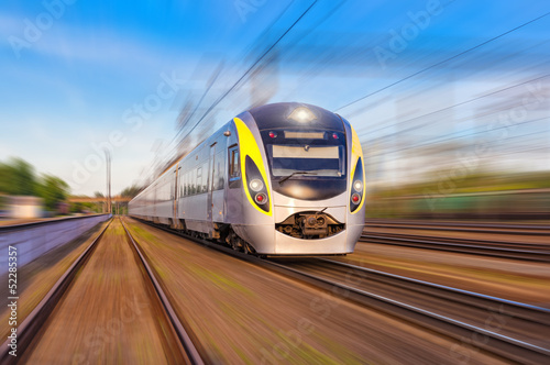 canvas print picture Speed