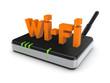 Wi-fi concept.