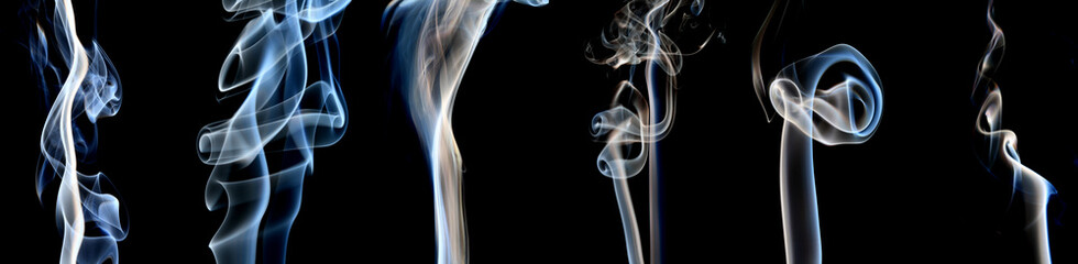 Blue and White smoke collection