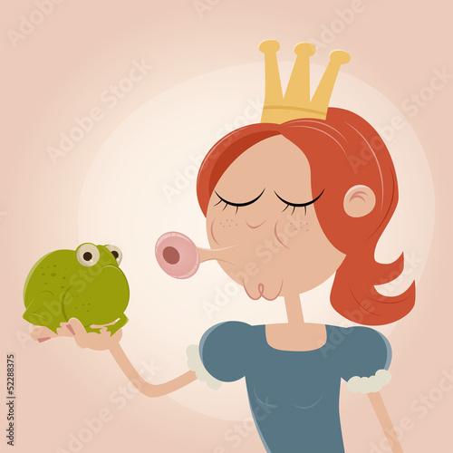 prinzessin frosch küssen