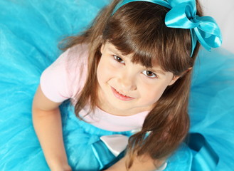 Beautiful Smiling Girl Portrait