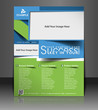 Vector business brochure, flyer
