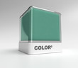 Green color block