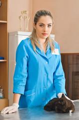veterinary woman