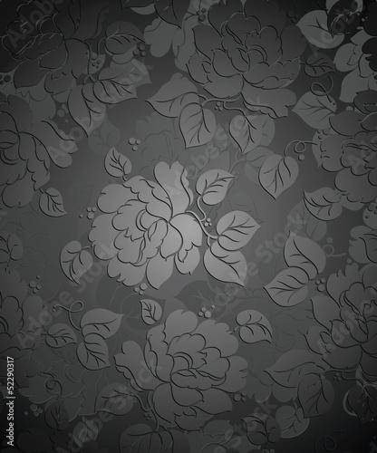 Royal seamless rose flower wallpaper