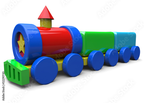 LITTLE TRAIN TOY - 3D