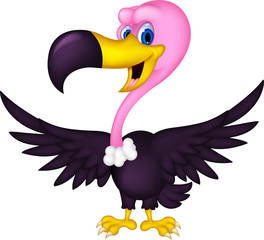 cute Vulture cartoon