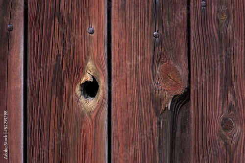 wall withy peephole