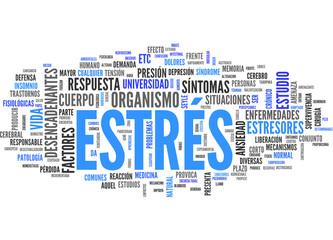 Estrés (tag cloud español)