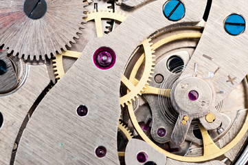 Clock machinery