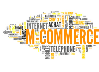 M-Commerce (tag cloud français)