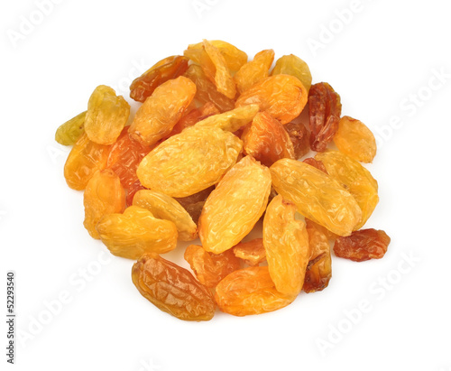 Big yellow raisins