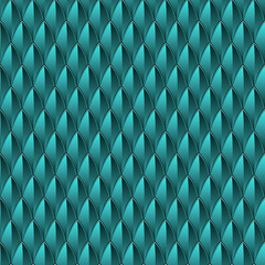 Blue Dragon Scale Background