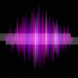 Pink and violet music background.
