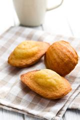 sweet madeleine cookies