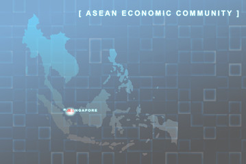 Singapore country that will be member of AEC map