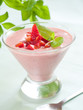 strawberry yoghurt dessert