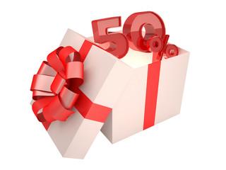 Present 50%