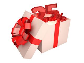 Present 25%