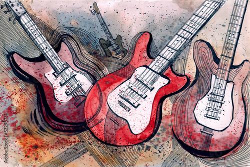 guitar music © okalinichenko
