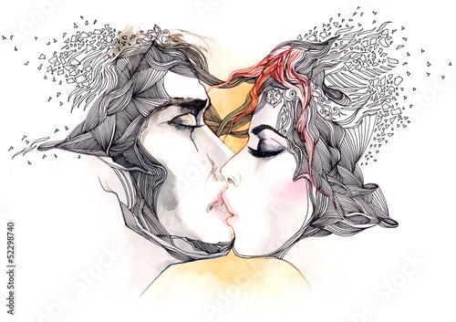 kiss © okalinichenko