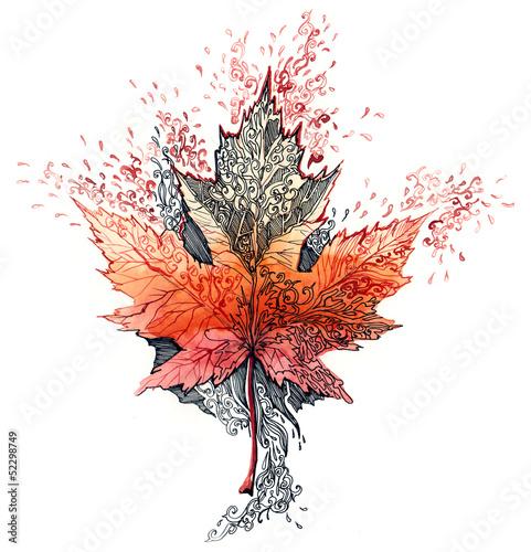leaf © okalinichenko