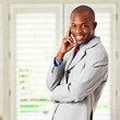 Quadro African young businessman portrait
