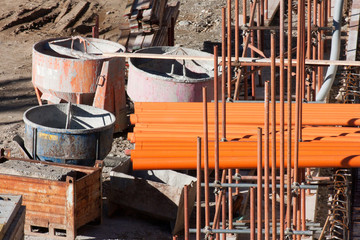 Material and equipment construction