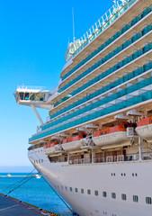 cruise ship mooring