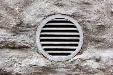 ventilation window on wall