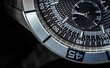 Macro shot of a chronometer, selective focus