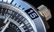Detail of a luxury watch, shallow depth of field.