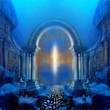Leinwanddruck Bild - Way to Atlantis