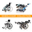 Vehicle for handicapped persons - wheelchairs collection.