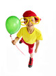 Kind mit Balloon